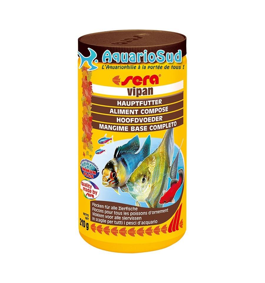 Sera vipan 1 litre nourriture pour poissons d 39 aquarium for Alimentation poisson aquarium
