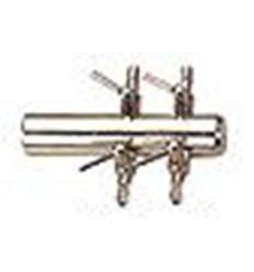 Robinet métal - 4 sorties 4-6mm