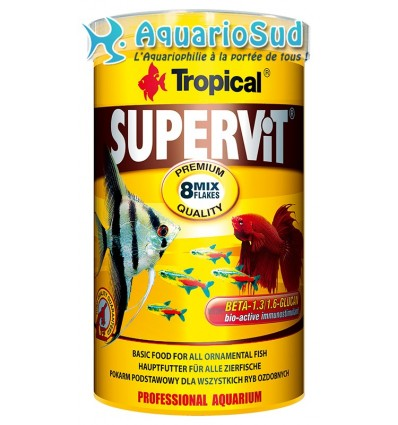 Tropical supervit ml nourriture en flocons for Tropical nourriture poisson