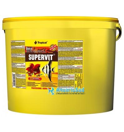 TROPICAL Supervit - 11 litres - Nourriture pour bac communautaire