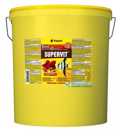 TROPICAL Supervit - 21 litres - Nourriture pour bac communautaire -