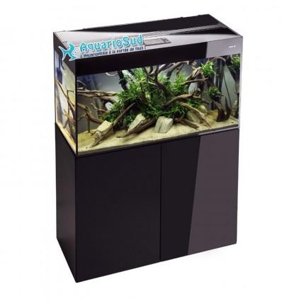 Aquarium complet 125 litres - AQUAEL Glossy 80 Noir