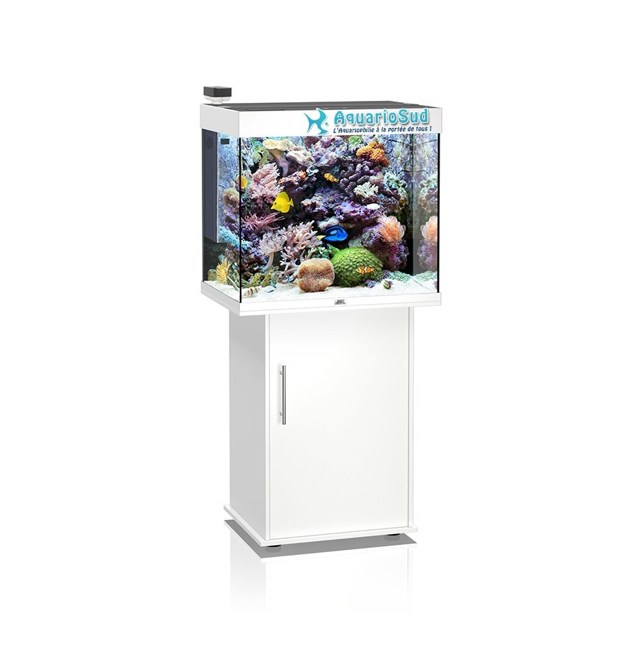 Aquarium marin ecumeur seaskim juwel lido 200 blanc for Aquarium eau de mer