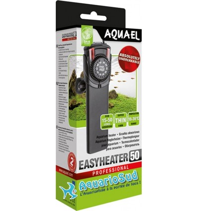 Chauffage incassable pour aquarium - AQUAEL EASYHEATER 50 watt