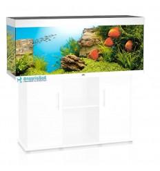 Aquarium tout équipé JUWEL Rio 400 - Blanc