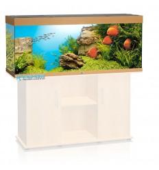 Aquarium tout équipé JUWEL Rio 400 - Hêtre