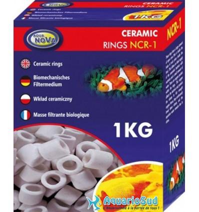 AQUA NOVA NCR-1 - Céramique de filtration - 1kg