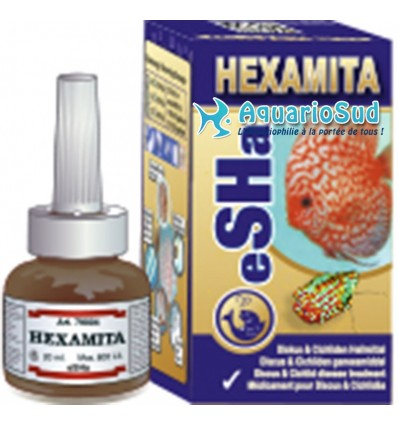 eSHa Hexamita, 20ml - Maladie des trous dans la tête