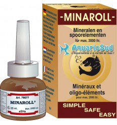 eSHa Minaroll, 20ml - vitamines, minéraux et oligo-éléments pour poisson