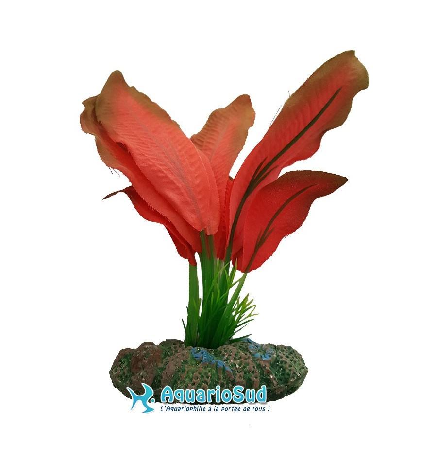 Plante d corative en plastique pour aquarium de 13 cm Plante decorative