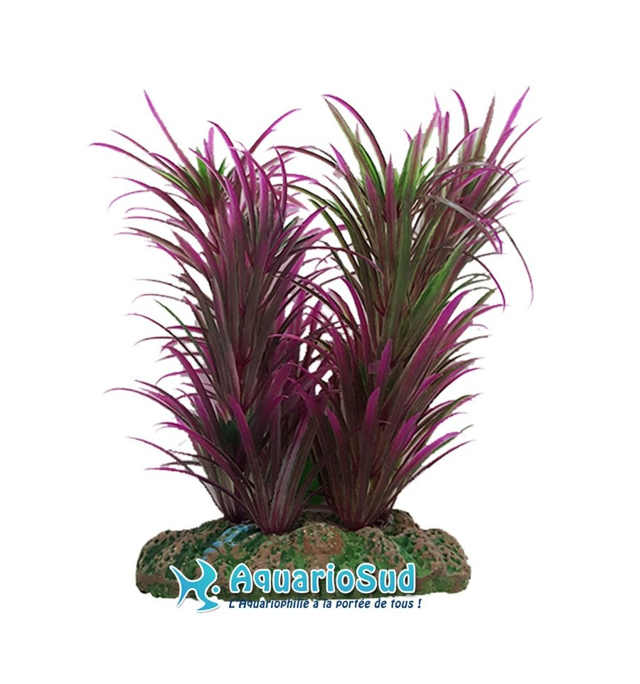 Plante d corative en plastique pour aquarium de 13 cm vert for Plante decorative exterieure
