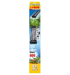 SERA Led FiXture 800 Black
