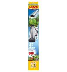 Support SERA Led FIXTURE Silver 800 pour 3 tubes SERA Led X-Change