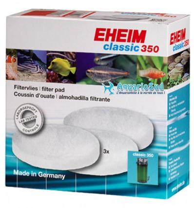 EHEIM Ouate Filtrante pour filtre Classic 350 - Lot de 3