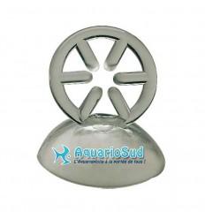 Ventouse à anneau pour thermomètre ou tuyau Ø 9/12 mm