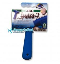 JBL Aqua-T Handy - Nettoyeur de vitres avec lame en acier inoxydable