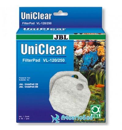 JBL Uniclear FilterPad VL - Ouate filtrante adaptée aux filtres externes JBL CristaProfi 120 et 250