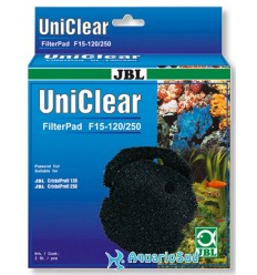 JBL Uniclear FilterPad F15 120/250 - Mousse de filtration 15 ppi