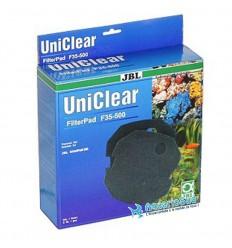 JBL Uniclear FilterPad F35 500 - Mousse de filtration 35ppi