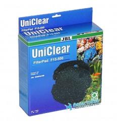 JBL Uniclear FilterPad F15 500 - Mousse de filtration 15ppi