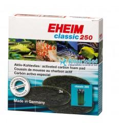 EHEIM - Coussin de Mousse au Charbon pour filtre Classic 250 (Eheim 2213)