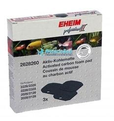 EHEIM Coussin de Charbon actif pour filtre eXperience/Professionel 150/250