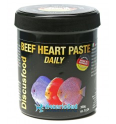 DISCUSFOOD Beef Heart Paste Daily - 350 grammes