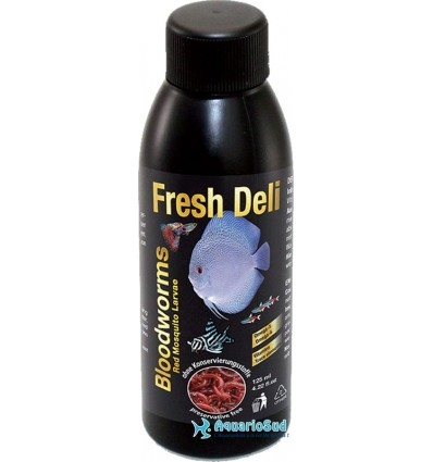 DISCUSFOOD Fresh Deli Bloodworms liquid - 125ml