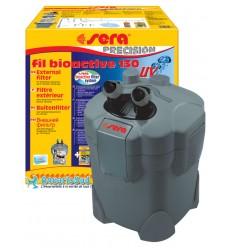 Filtre extérieur SERA Fil Bioactive-130 avec UVC intégré pour aquarium jusqu'à 130 litres.