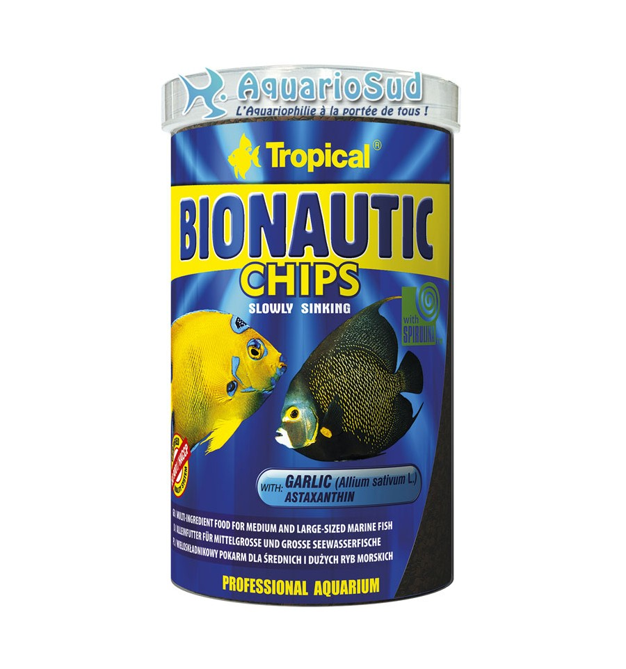 Tropical bionautic chips ml nourriture poissons for Tropical nourriture poisson