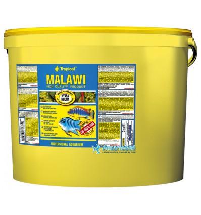 TROPICAL Malawi - 11 litres est une nourriture pour Cichlidés d'Afrique de l'Est.