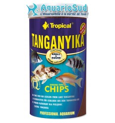 TROPICAL Tanganyika chips 250ml : Alimentation pour poissons du lac Tanganyika