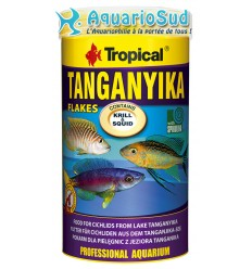 TROPICAL Tanganyika Flakes 250ml : Nourriture en Flocons pour Cichlidés du lac Tanganyika