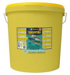 TROPICAL Tanganyika Flakes - 21 litres pour l'alimentation quotitienne des Cichlidés Africains du Lac Tanganyika