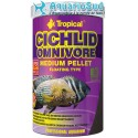 TROPICAL Cichlid Omnivore Medium Pellet - 5 litres