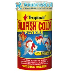 TROPICAL Goldenfish Color Flakes 100ml : Nourriture poissons rouges