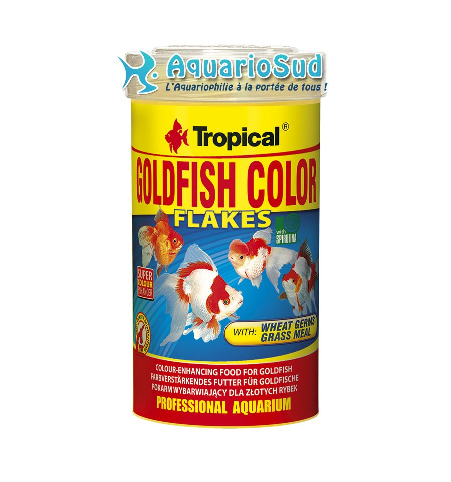 Tropical goldfish color 100ml nourriture pour poissons for Tropical nourriture poisson
