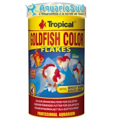 TROPICAL Goldenfish Color Flakes 500ml : Nourriture poissons rouges