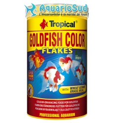TROPICAL Goldenfish Color Flakes 1 litre : Nourriture poissons rouges