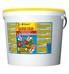 TROPICAL Goldenfish Color Flakes 5 litres : Nourriture poissons rouges