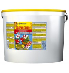 TROPICAL Goldenfish Color Flakes 11 litres : Nourriture poissons rouges