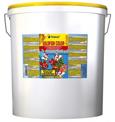 TROPICAL Goldenfish Color Flakes 21 litres : Nourriture poissons rouges