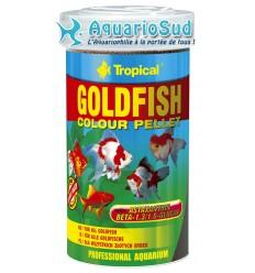 TROPICAL Goldenfish Colour Pellet 100ml : Nourriture paillettes pour poissons rouges et petites carpes koï