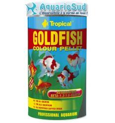 TROPICAL Goldenfish Colour Pellet - 250ml : Nourriture paillettes pour poissons rouges et petites carpes koï