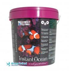 Aquarium Systems Instant Ocean - 20 Kg pour la préparation de 600 litres d'eau de mer.
