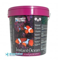 Aquarium Systems Instant Ocean - 25 Kg pour la préparation de 750 litres d'eau de mer.
