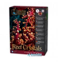 AQUARIUM SYSTEMS Reef Crystals : 2 Kg - Sel marin pour réaliser 60 litres d'eau pour aquarium récifal