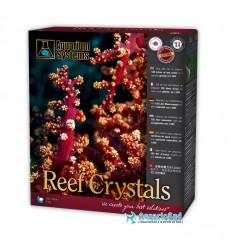AQUARIUM SYSTEMS Reef Crystals : 4 Kg - Sel marin pour réaliser 120 litres d'eau pour aquarium récifal