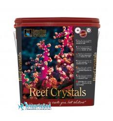 AQUARIUM SYSTEMS Reef Crystals : 15 Kg - Sel marin pour réaliser 410 litres d'eau pour aquarium récifal