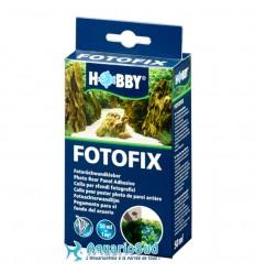 HOBBY Fotofix 50ml pour le collage de poster brillant sur l'arrière de l'aquarium